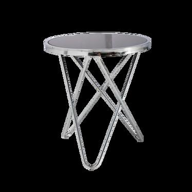 Stolik kawowy Chrome średnica 45 cm