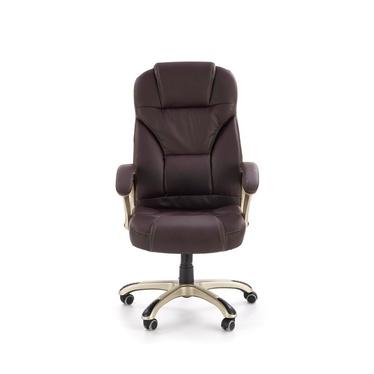Fotel biurowy Perito brązowy