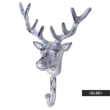 Wieszak na ścianę Deer metalowy
