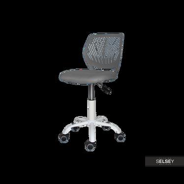 Fotel biurowy Elling szary