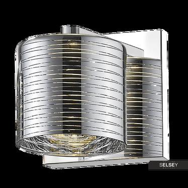 Kinkiet Daniels 12 cm srebrny