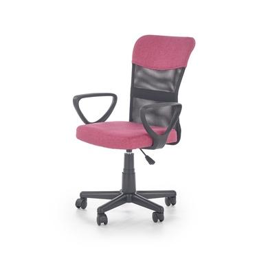 Fotel biurowy Berak różowy