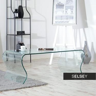 Ława Labra 120x60 cm szklana do salonu