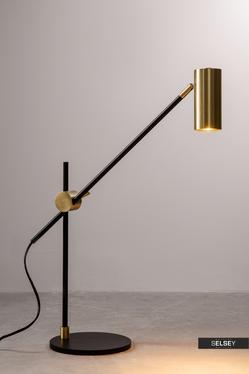 Lampa stołowa Yerba z regulowanym kloszem