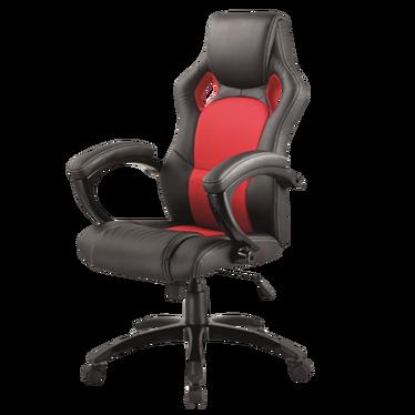 Fotel gamingowy Linto czerwono - czarny