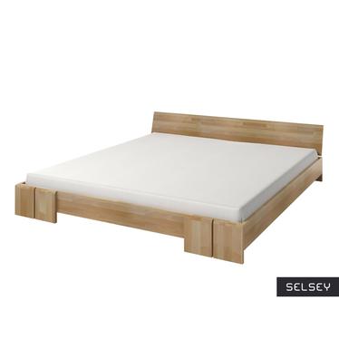 Łóżko z drewna bukowego Loke niskie
