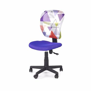 Fotel biurowy Mollina fioletowy