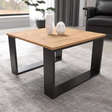 Stolik kawowy kwadratowy Flampify 65x65 cm