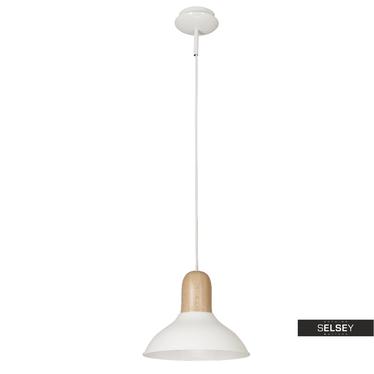 Lampa wisząca Jokull biała średnica 35 cm