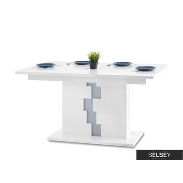 Stół Lars 76(138)x90 cm biały rozkładany