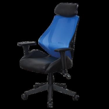 Fotel biurowy Corissa niebiesko - czarny