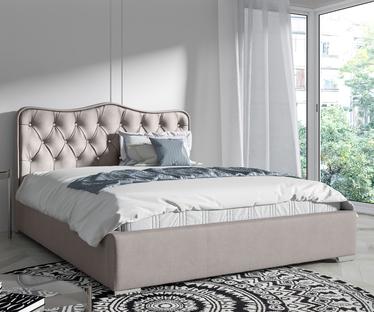 Łóżko Sytian z pojemnikiem na pościel w tkaninie wodoodpornej