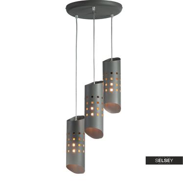 Lampa wisząca Lighthols x3 kaskada