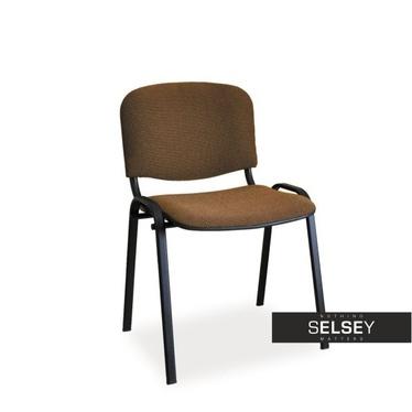 Krzesło Edesa brązowe