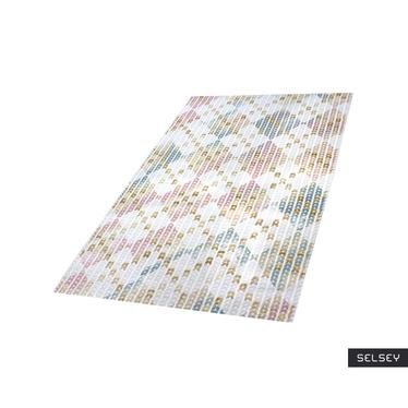 Dywan Kolorowa jodełka 100x300 cm
