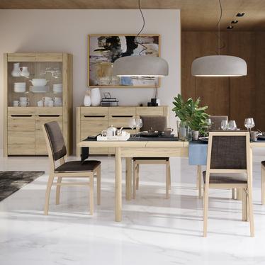 Stół rozkładany Trobers 136-210x90 cm