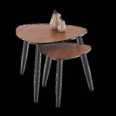 Zestaw stolików kawowych Fraga o średnicy 40 cm i 60 cm