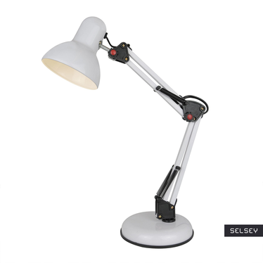 Lampka na biurko Dakar biała