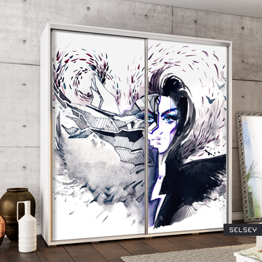 Szafa Wenecja 205 cm Rozterki