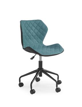 Fotel biurowy Forint czarno-turkusowy