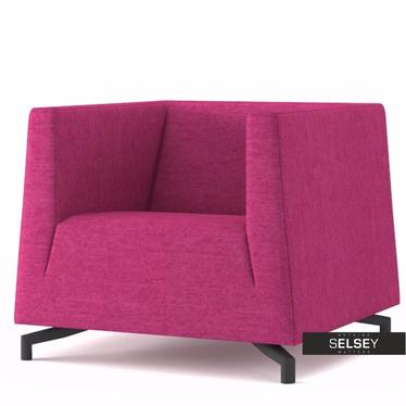 Fotel Soft 19 różowy