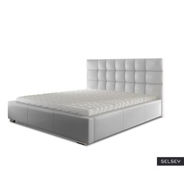 Łóżko Reno (wybór rozmiaru i koloru, opcjonalnie materac i pojemnik)