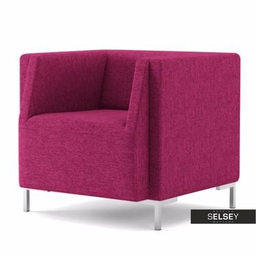 Fotel Fleck 12 różowy