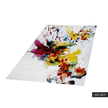 Chodnik Abstrakcyjne kleksy 80x300 cm