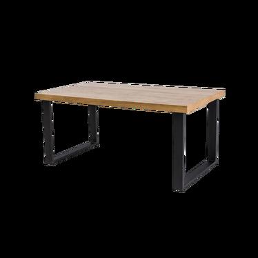 Stół Eco 180x90 cm z litego drewna dębowego