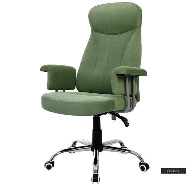 Fotel biurowy Martin zielony