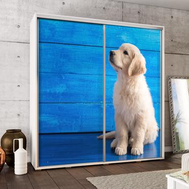 Szafa Wenecja 205 cm Labrador szczeniak