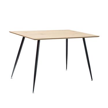 Stół Padborg 120x80 cm dąb - czarny