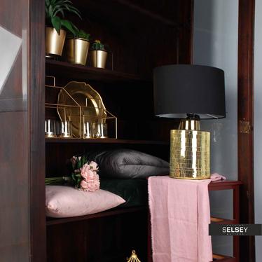 Lampa stołowa Caselli złota
