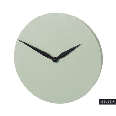 Zegar Modern pistacjowy