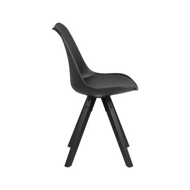 Zestaw dwóch krzeseł Djum czarne