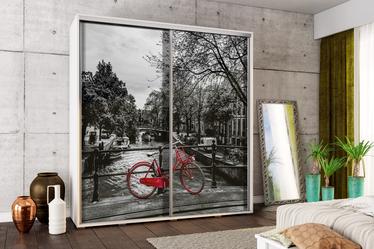 Szafa Wenecja 205 cm Czerwony rower