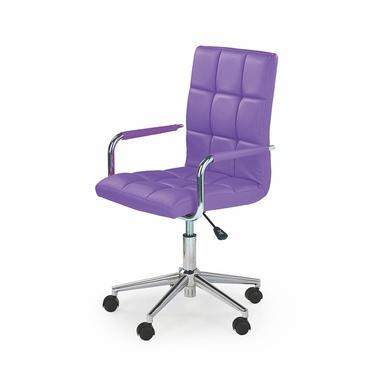 Fotel biurowy Gradin fioletowy