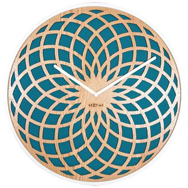 Zegar drewniany Sun small średnica 35 cm