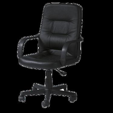 Fotel biurowy Portillo czarny