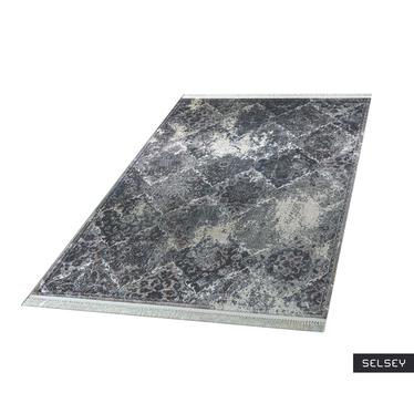 Dywan Confortum postarzany ciemny wzór 180x280 cm