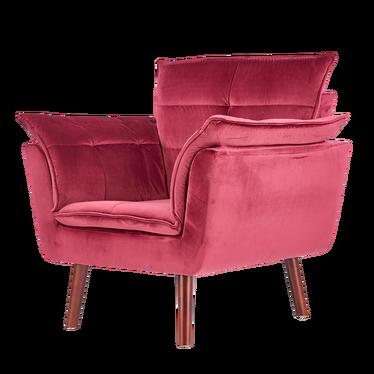 Fotel Ferroi bordowy