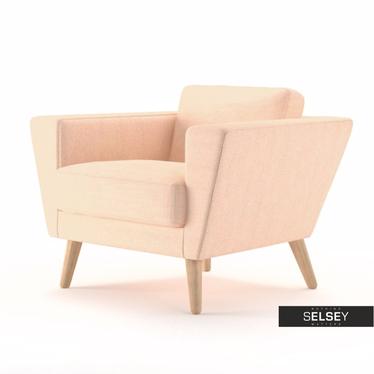 Fotel Atla 17 kremowy