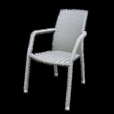 Krzesło ogrodowe Alico szare