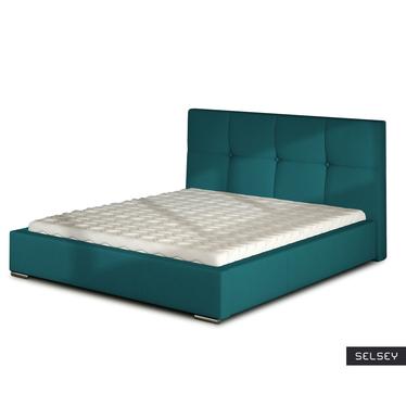 Łóżko Verdi (wybór rozmiaru i koloru, opcjonalnie materac i pojemnik)