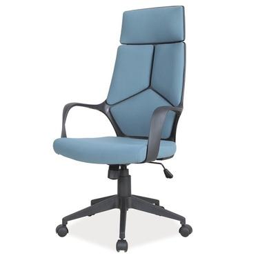 Fotel biurowy Quinto niebiesko - czarny