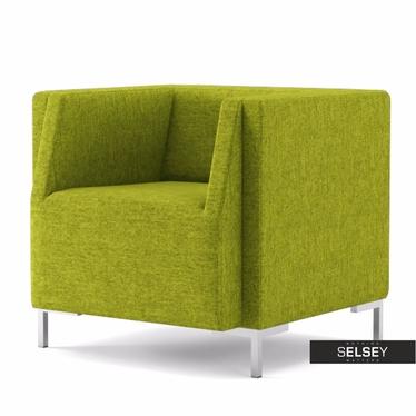 Fotel Fleck 13 zielony jasny