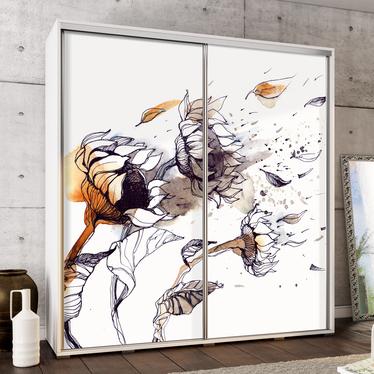 Szafa Wenecja 205 cm Słoneczniki