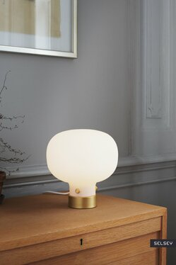 Lampa stołowa Raito złota podstawa