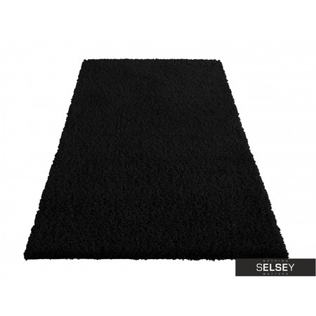Dywany Shaggy czarny