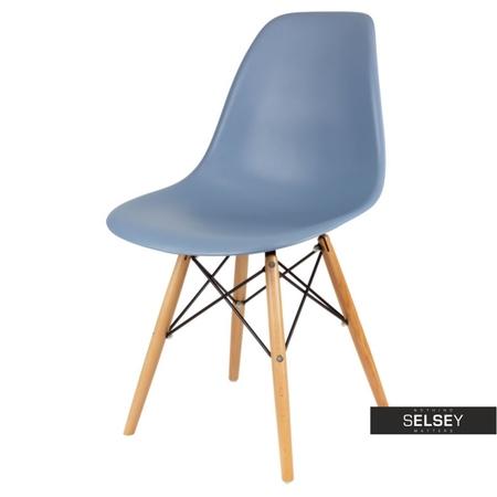 Krzesło Basic navy buk
